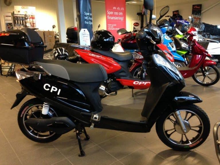 CPI EL Scooter - meget god kvalitet | Skien Motorsenter